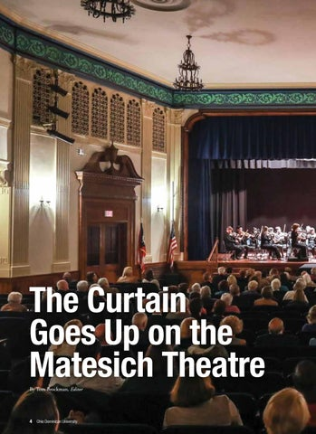 Page 6 of The Curtain Goes Up on the Matesich Theatre