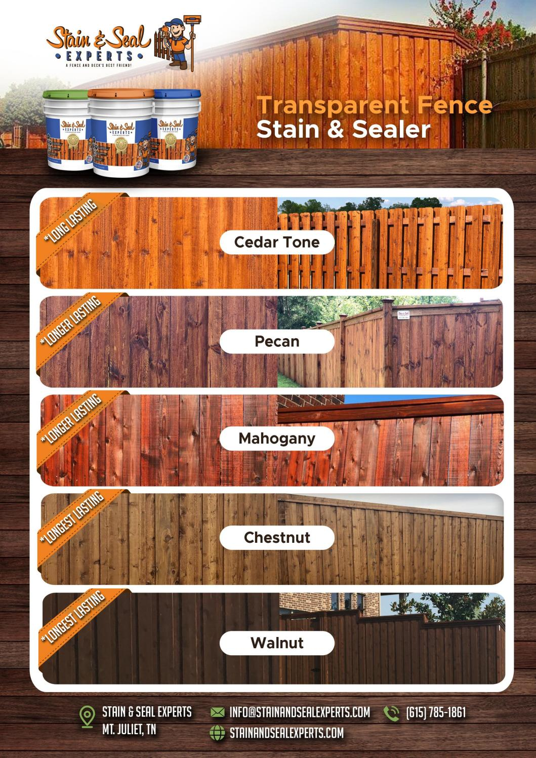Picture of: Transparent Fence Colours Stain Sealer Expert By Stain Seal Experts Issuu