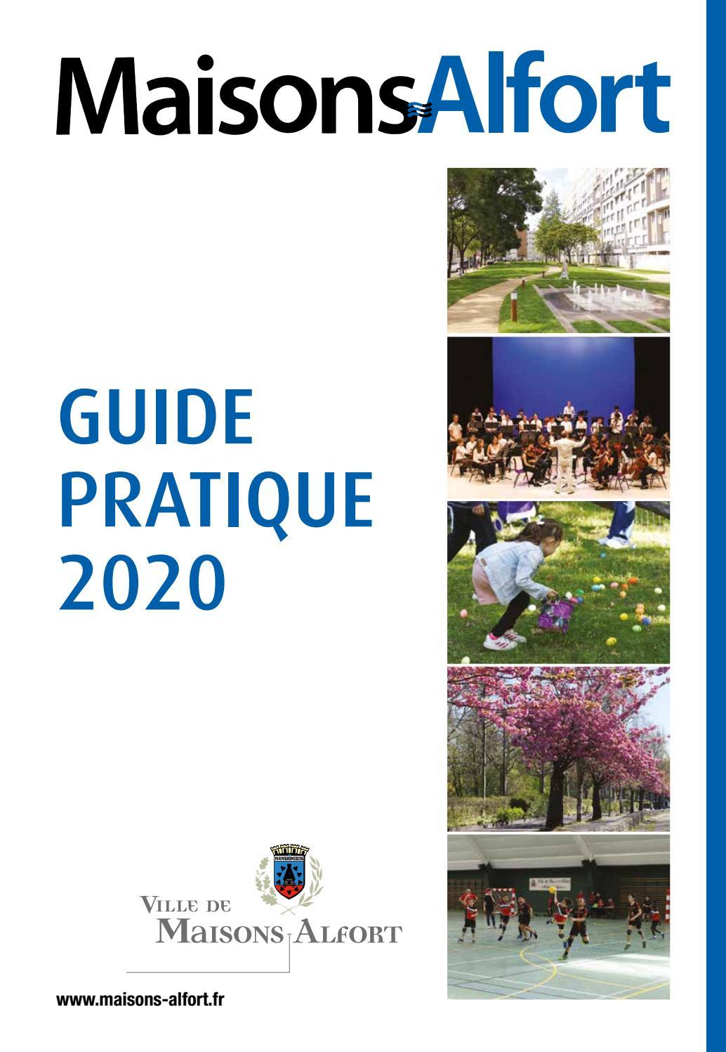 Guide Pratique 2020 By Mairie De Maisons Alfort Issuu