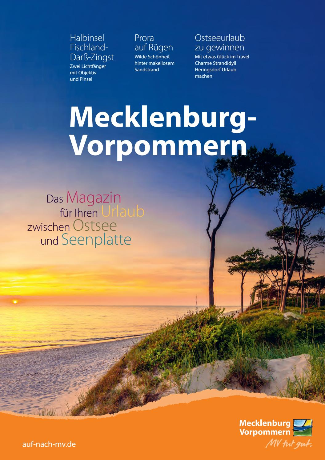 Urlaubsmagazin 20   Mecklenburg Vorpommern by Tourismusverband ...