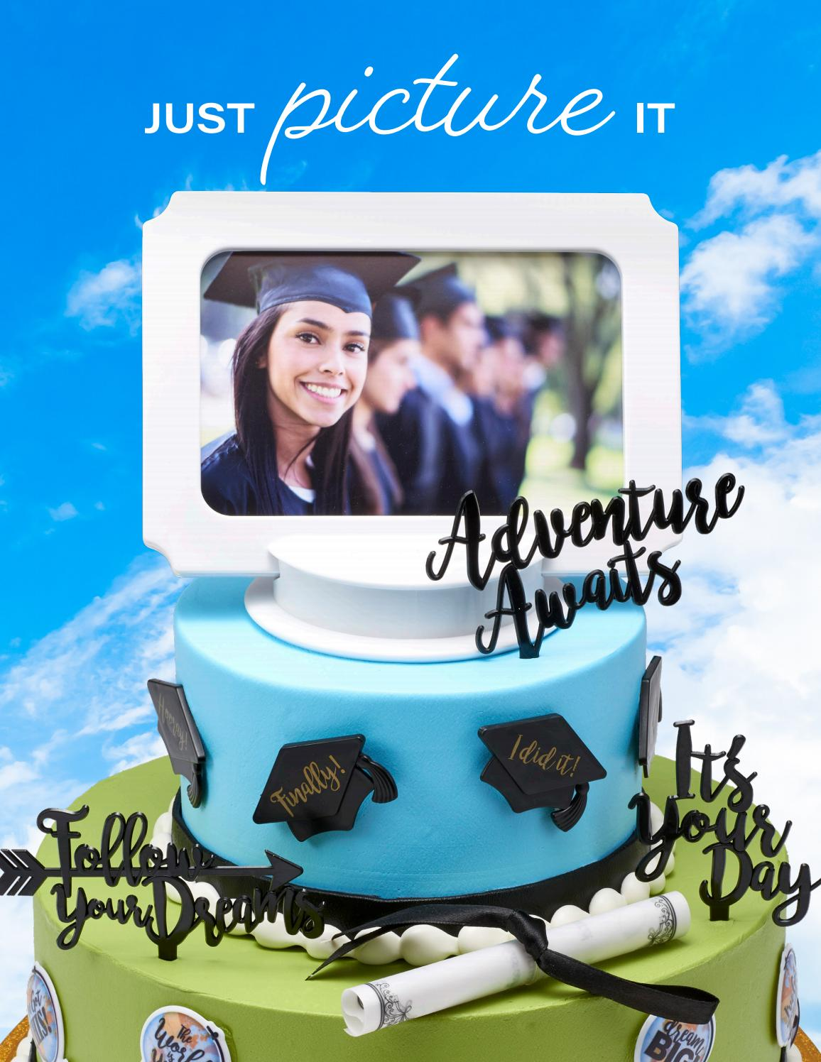 Marvelous Publix Graduation 2020 By Decopac Issuu Personalised Birthday Cards Veneteletsinfo