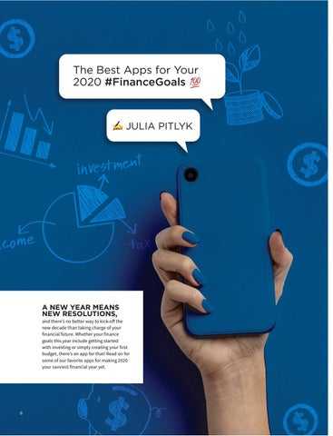 Page 10 of The Best Apps for Your 2020 #FinanceGoals