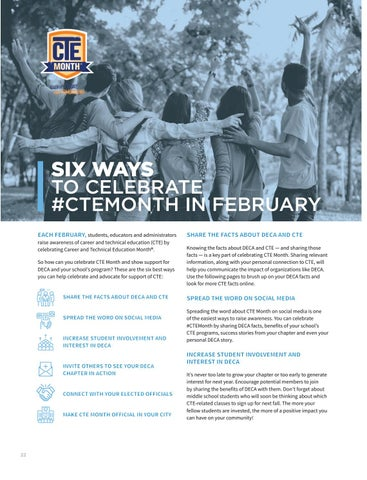 Page 24 of Six Ways to Celebrate #CTEMonth in February