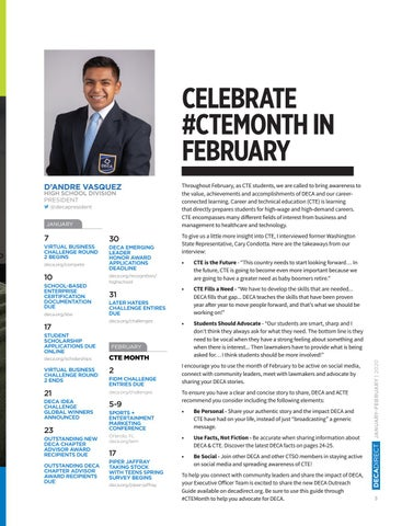Page 5 of Celebrate #CTEMonth in February