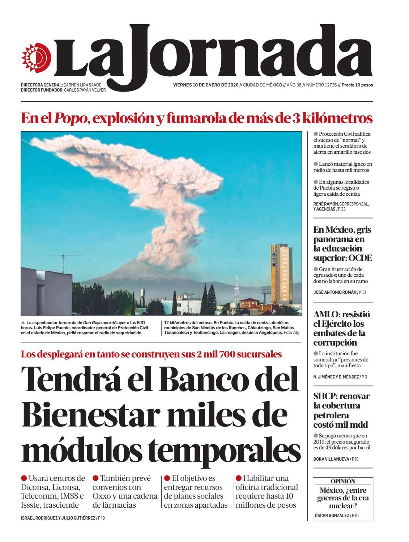 La Jornada, 01/10/2020 by La Jornada - issuu