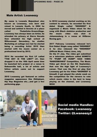 Page 25 of Male Artist: Lwaneezy
