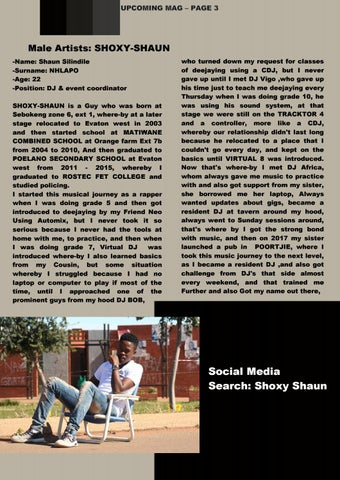 Page 4 of Social Media Search: Shoxy Shaun