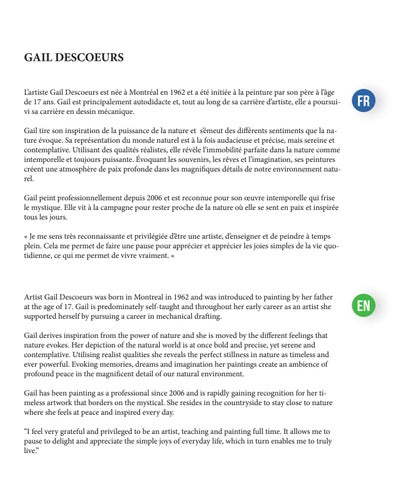 Page 3 of GAIL DESCOEURS