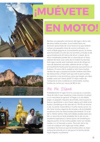 Page 13 of Little Traveler La Revista Edición Aniversario enero-marzo 2020