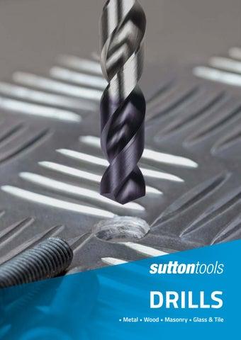 4-12mm Titanium Coated Drill Bits Alloy Carbide Point Tile Glass Bit Power、2 Lp