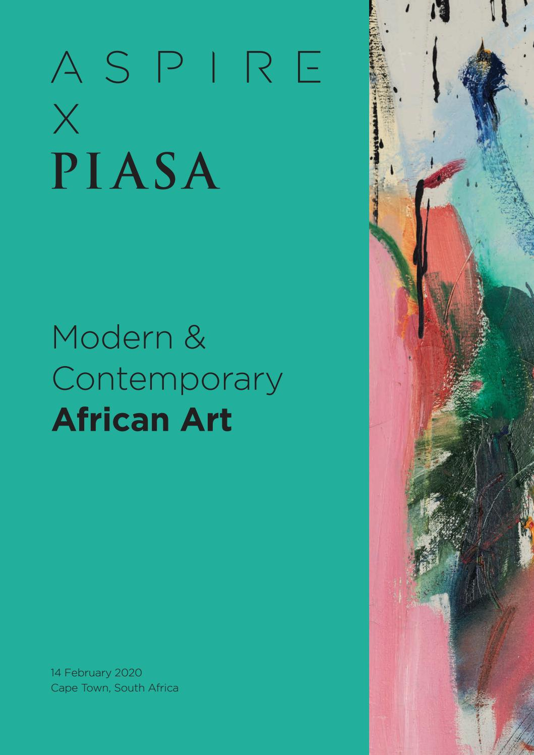 Aspire X Piasa February 2020 Auction Catalogue By Aspire Art Auctions Issuu