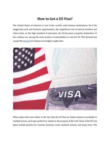 US Visa by visaservicesbtw - issuu