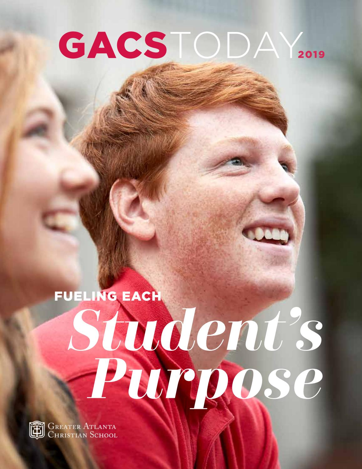 Gacs Today 2019 Magazine By Greater Atlanta Christian School Issuu The famous inspirational personality, marcus parks, celebrates his birthday on 19 january every year. greater atlanta christian school