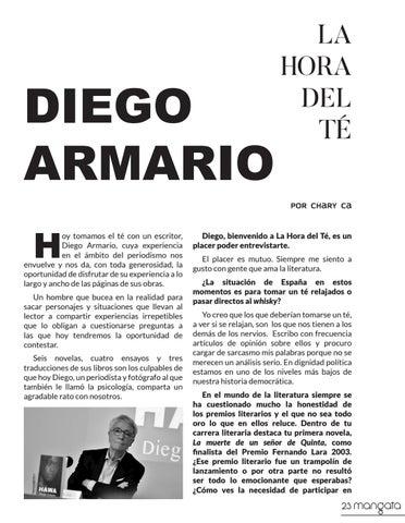 Page 23 of DIEGO ARMARIO LA HORA DEL TÉ