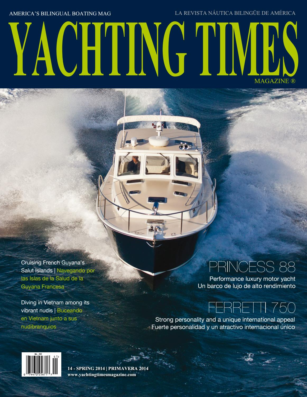 Abosas yachting times magazine #14dolores barciela - issuu