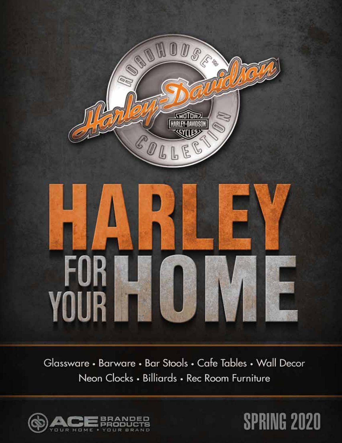 Harley Davidson Magnet Modell HD Oval