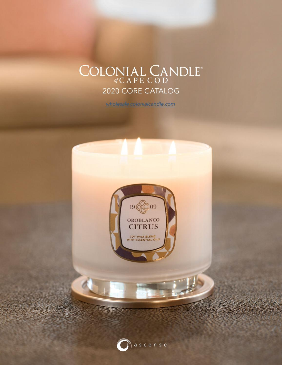 Colonial Candle 2020 Catalog By Colonial Candle Issuu