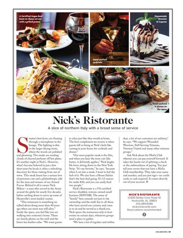Page 51 of Nick's Ristorante: A Slice of Northern Italy with a Broad Sense of Service