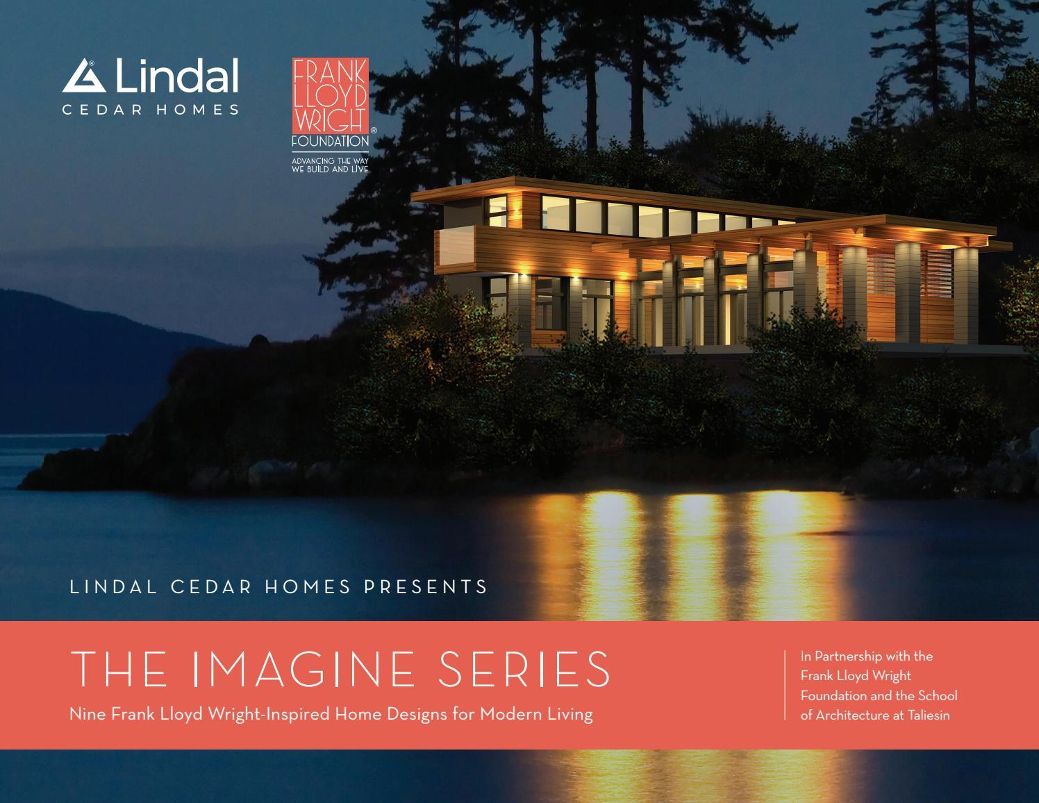 Lindal Cedar Homes Frank Lloyd Wright Inspired Imagine Series By Lindal Cedar Homes Issuu