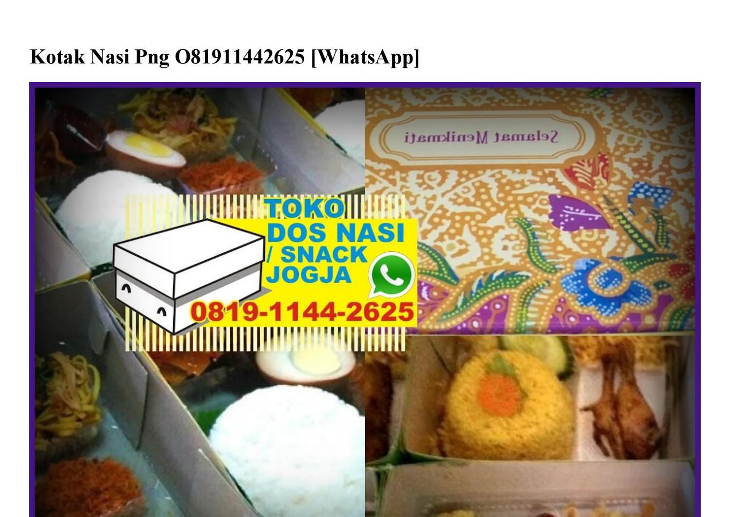 kotak nasi png o819 1144 2625 wa by durennanas61 issuu issuu