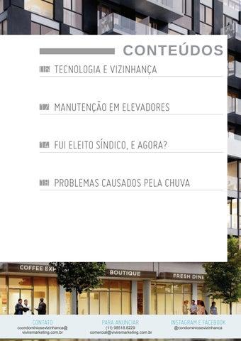 Page 5 of Condomínios e Vizinhança Edição 1 Janeiro/2020