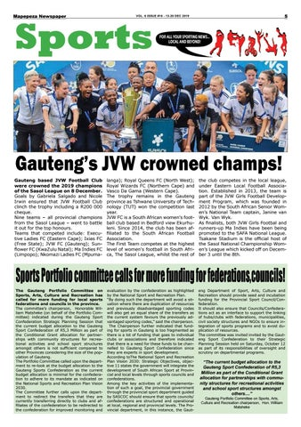 Page 5 of Gauteng's JVW crowned champs!