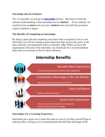 Internship Training In Chennai By Nivi Pand Issuu