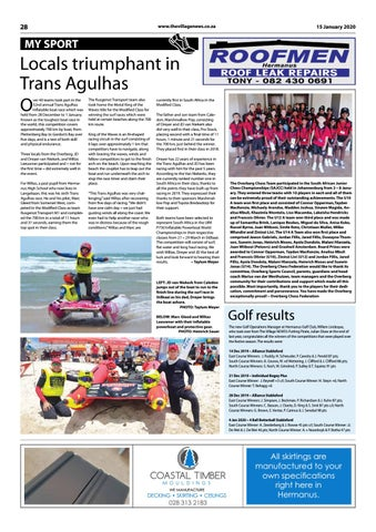 Page 28 of Locals triumphant in Trans Agulhas
