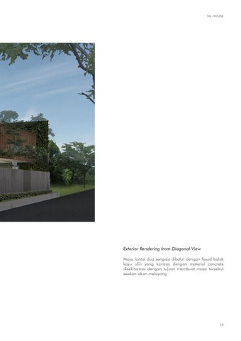 Page 11 of Architecture & Interior Portfolio 2020 - Jeffrey Stefanus