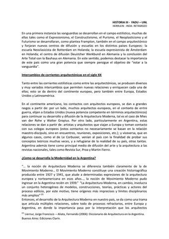 Page 3 of CONTACTO ENTRE OBRAS ARTÍSTICAS O ARQUITECTÓNICAS EXTRANJERAS Y CREACIONES LOCALES