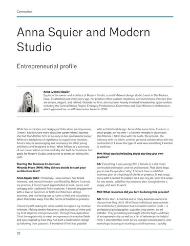 Page 32 of Anna Squier and Modern Studio
