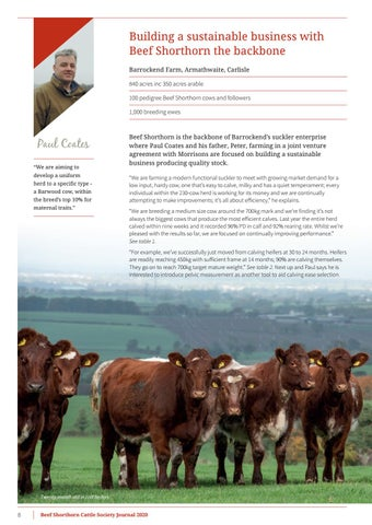 Page 10 of Beef Shorthorn Cattle Society Journal - Volume 16 2020