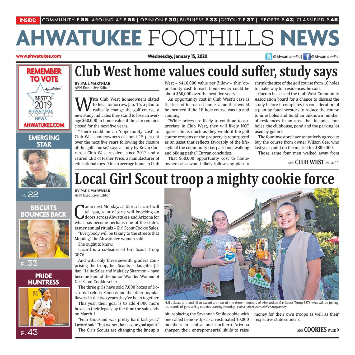 Ahwatukee Foothills News January 15