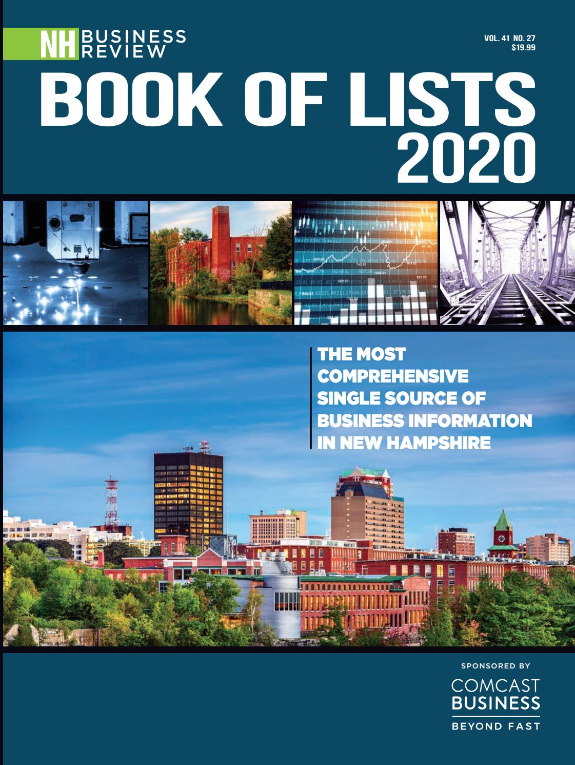 2020 Book Of Lists By Nh Business Review By Mclean Communications Issuu