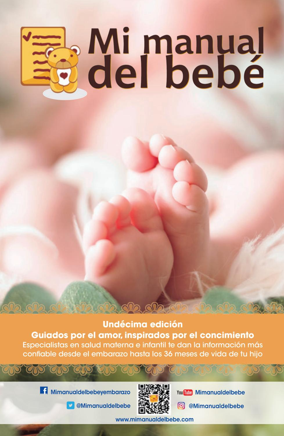Mi Manual Del Bebé Colombia Undécima Edición By Alolaconnection Issuu