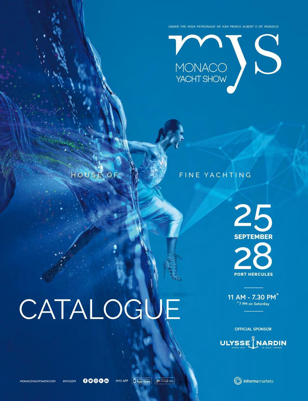 Confort Bain Design Bois Guillaume monaco yacht show - official catalogue 2019