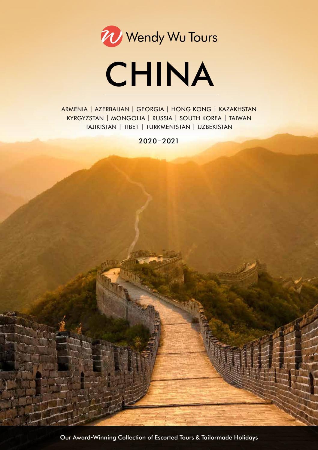 China Brochure 2020 2021 Uk By Wendy Wu Tours Issuu
