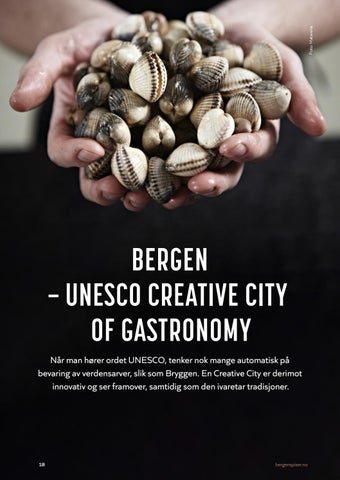 Page 18 of BERGEN — UNESCO CREATIVE CITY OF GASTRONOMY