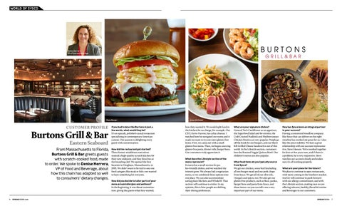 Page 5 of CUSTOMER PROFILE Eastern Seaboard Burtons Grill & Bar