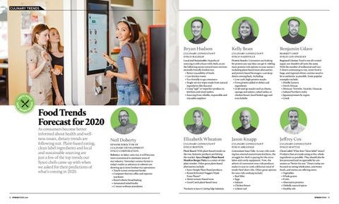 Page 8 of Food Trends Forecast for 2020