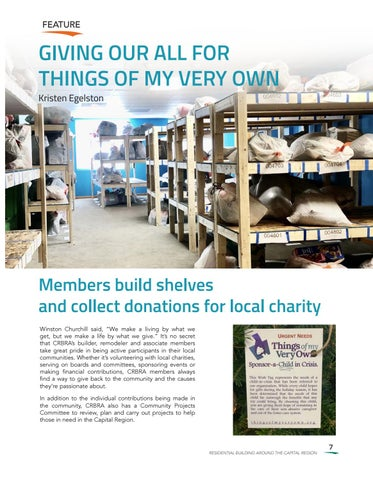 Page 7 of GIVING OUR ALL FOR THINGS OF MY VERY OWN