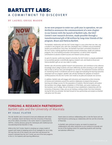 Page 5 of BARTLETT LABS: A COMMITMENT TO DISCOVERY