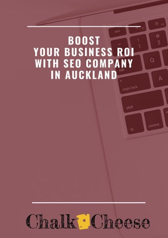 Page 1 of boost your business with seo company in auckland