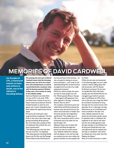 Page 64 of Memories of David Cardwell