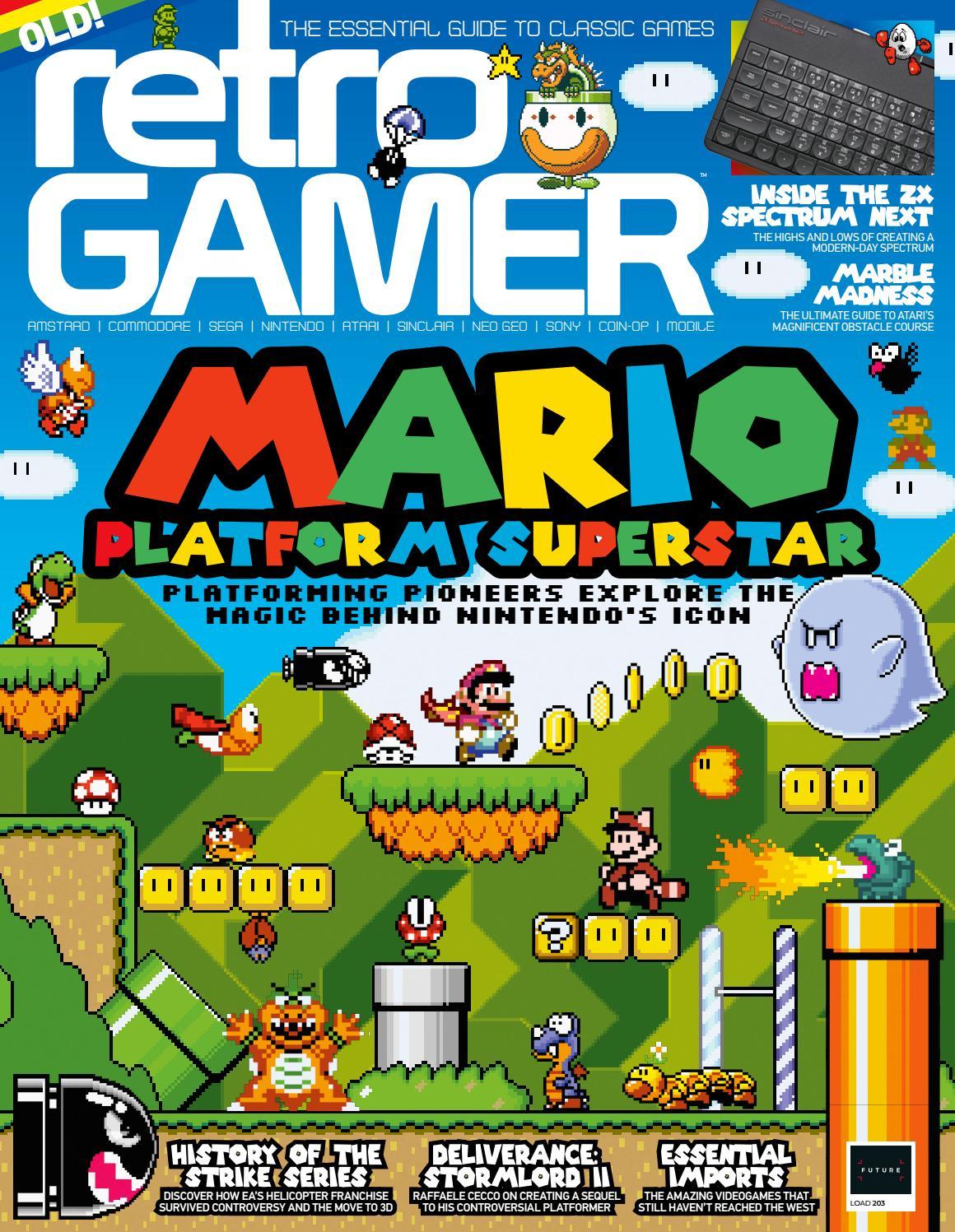 Retro Gamer 203 Sampler By Future Plc Issuu