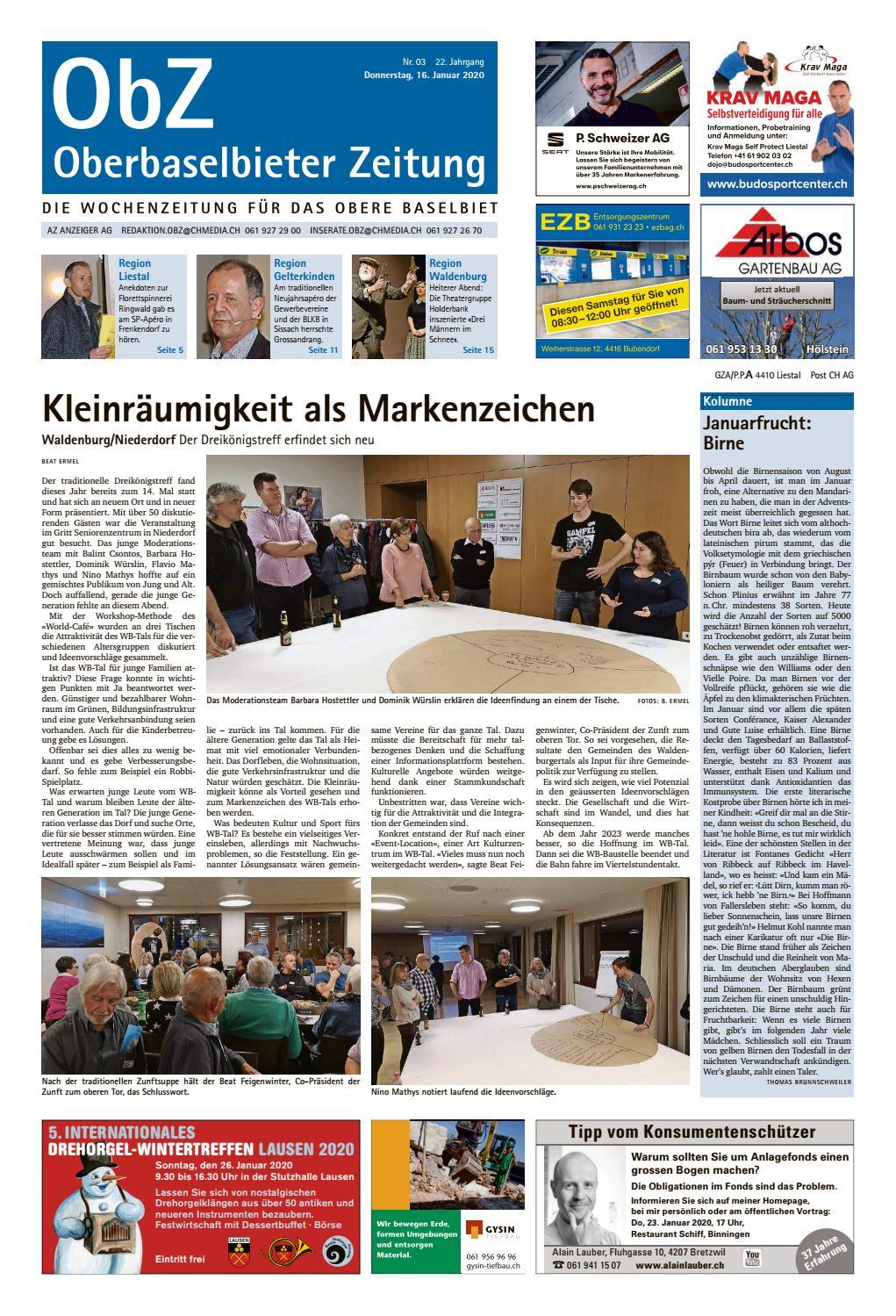 liestal-sissach - Schweizerisches Vereinsportal, Miplan AG