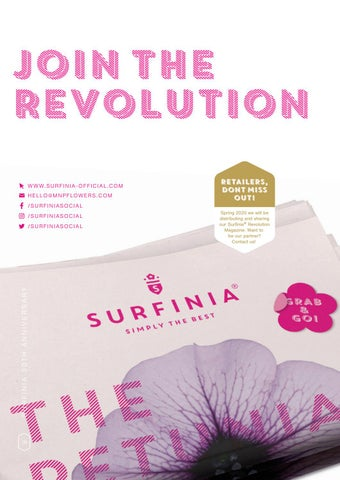 Page 18 of 30th anniversary of Surfinia®