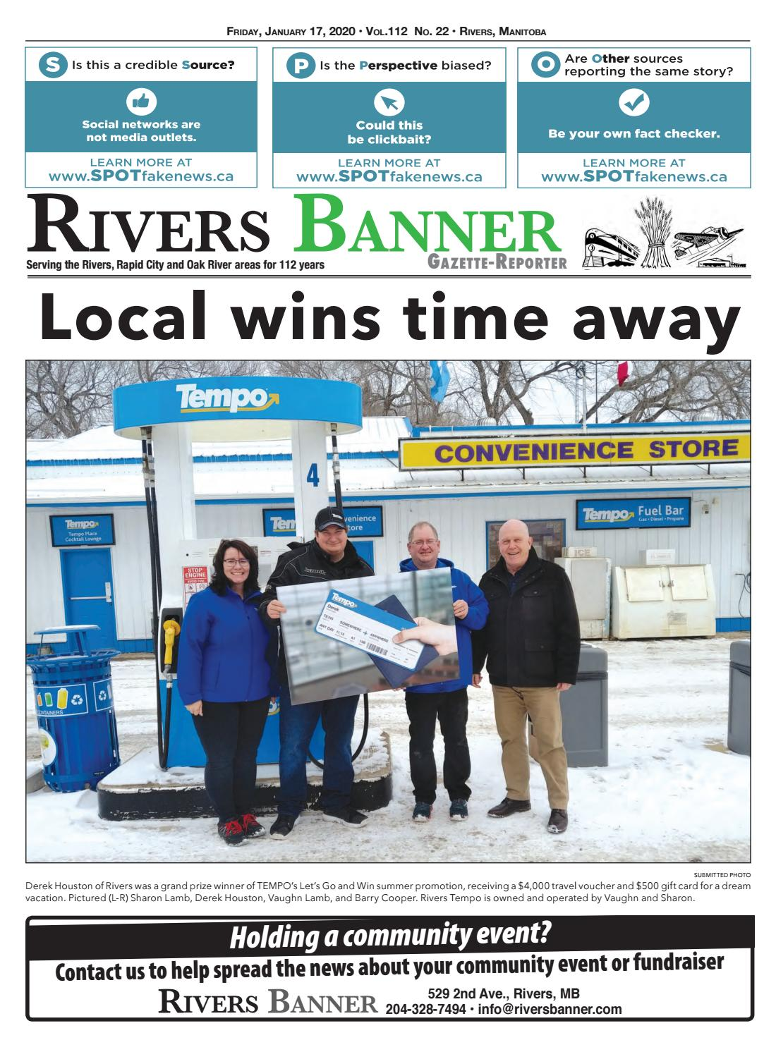 January 17 2020 By Rivers Banner Issuu