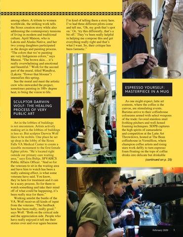 Page 5 of DAKOTA LIFE: Arts Corner