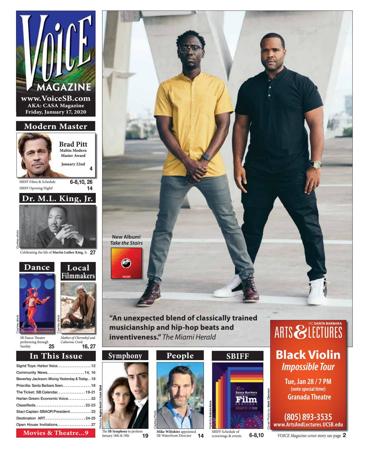 Alba Carrillo Altura voice magazine: january 17, 2020voice magazine / casa